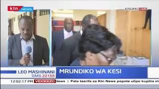 Rais wa Mahakama ya rufaa, William Ouko azuru Kisumu kutafuta suluhu wa mrundiko wa kesi