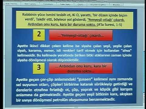 HARUN YAHYA TV - KURAN MUCİZELERİ; KURANDA PETROLÜN OLUŞUMU.mp4