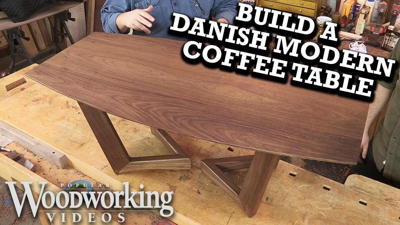 Build a danish modern coffee table pared down youtube build a danish modern coffee table pared down geotapseo Gallery
