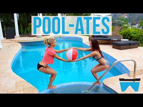 pool-ates-workout-#5-🏖💦☀️🔥💙|-wundabar-pilates