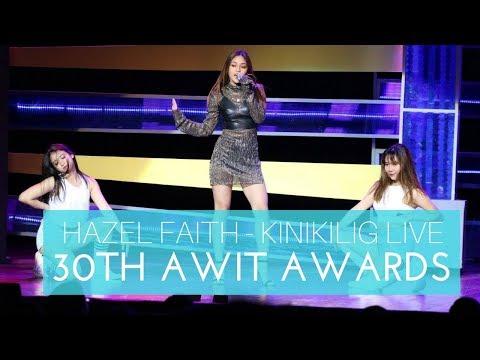 Hazel Faith - Kinikilig Live Performance (30th Awit Awards)