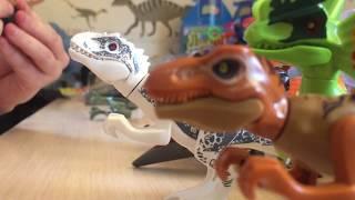 Набор динозавров 8 в 1!!! РАСПАКОВКА!!! Собираем и угощаем борщиком)))