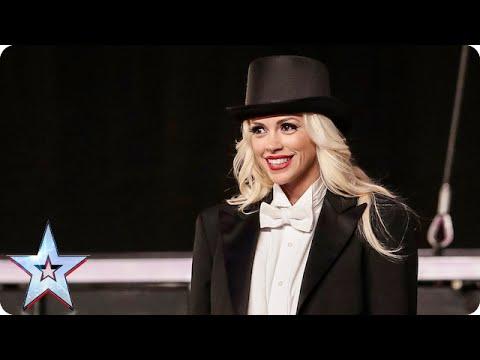 Magician Chloé has a present for Simon...   Britain's Got Talent 2015