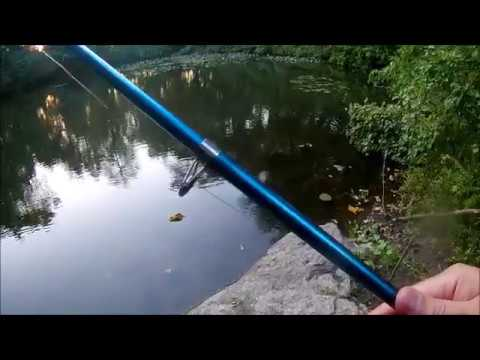 Fishing in Van Cortlandt Park Bronx New York