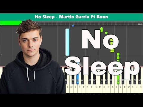 No Sleep Piano Tutorial - Free Sheet Music (Martin Garrix Ft Bonn) thumbnail