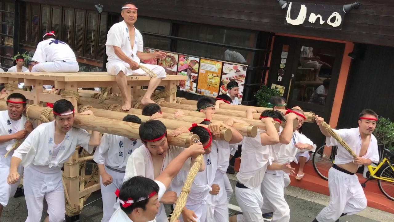 2017年博多祇園山笠『東流~試し...
