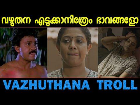 വഴുതന വെച്ച് ഇവളെന്ത് കാണിക്കാനാ..? Vazhuthana Rachana Narayanankutty Troll Video