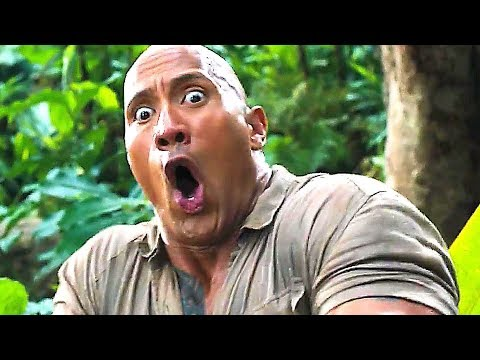JUMANJI 2 Trailer # 2 ✩ Dwayne Johnson Adventure Movie (2017)