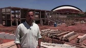 WM 2014: Stadionbau in Cuiabá liegt im Zeitplan