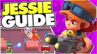 How to Play Jessie - Advanced Jessie Guide - Brawl Stars