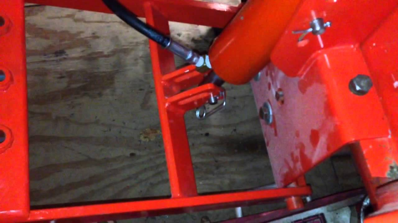 Home Made Tractor Clutch : Homemade ingersoll sleeve hitch youtube