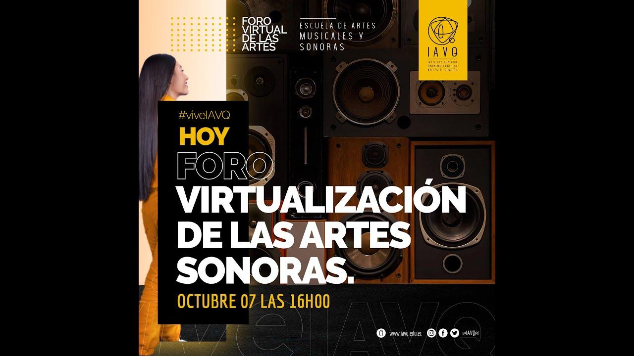 💻🔊🎚 Virtualización de las artes sonoras