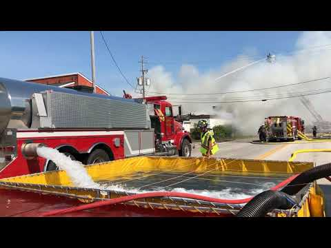 STRUCTURE FIRE IN CARLISLE TOWNSHIP - @TMCNEWS