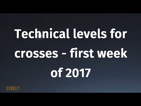 Technical levels for crosses - first week of 2017