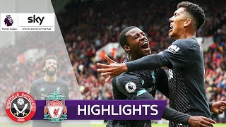 Keeper-Blackout: Klopps Serie geht weiter | Sheffield - Liverpool 0:1 | Highlights - Premier League