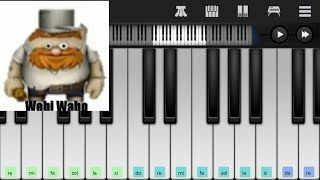 Plants Vs Zombies Wabi Wabo / Webi Wabo Piano Tutorial SOLDIERDIEGO / ELSOLDIERDIEGO