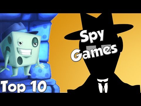 Top 10 Spy Games - with Tom Vasel