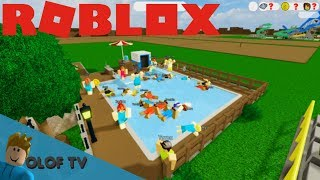 OPENS MY OWN WATER PARK IN ROBLOX!