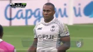 Fiji Highlights vs South Africa  ( 2018 London 7s Cup Final )