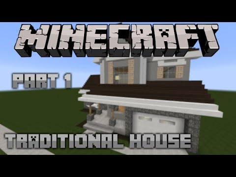 Minecraft Lets Build | Traditional House 1 | Part 1 - YouTube - photo#13