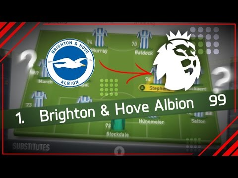 COULD BRIGHTON SURVIVE IN THE EPL? | FIFA 17 EXPERIMENT!!!
