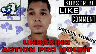 UNBOXING ACTION PRO MOUNT | USEFUL THINGS