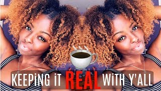 Watch This BEFORE You BLEACH YOUR HAIR | The Tea on Coloring Your Natural Hair