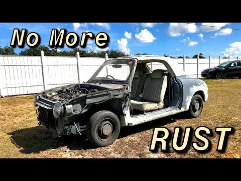 Rust Repair On The Nissan Figaro Part 3