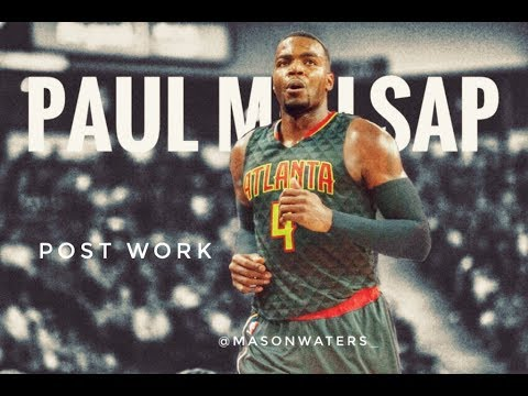 POST WORK | Paul Millsap | 2016-17 | Atlanta Hawks