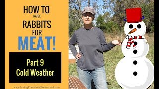 Raising Rabbits for Meat Part 9 Cold Weather