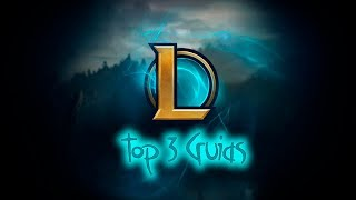 league of legends - top 3 guias de lol - op.gg champion.gg metasrc