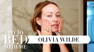 Olivia Wilde's Sustainable Nighttime Skincare Routine | Go To Bed With Me | Harper's BAZAAR