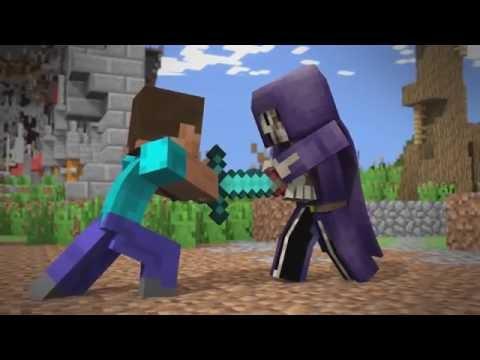 видео: Minecraft ВОЙНА МИРОВ ! мини фильм,анимация