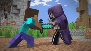 Minecraft ВОЙНА МИРОВ ! мини фильм,анимация