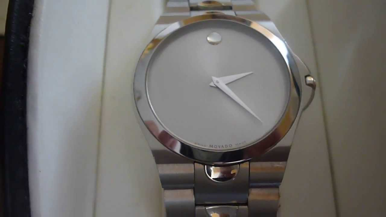 men movado watch luno the on hands sport watches s with youtube