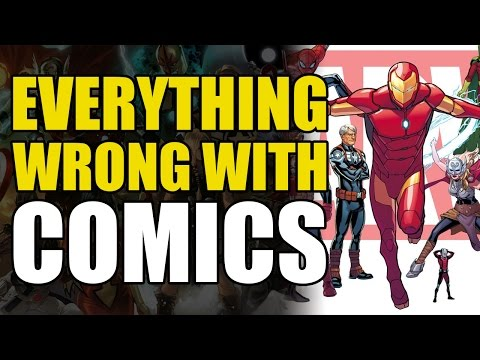 Everything Wrong With Comics: All New All Different Marvel
