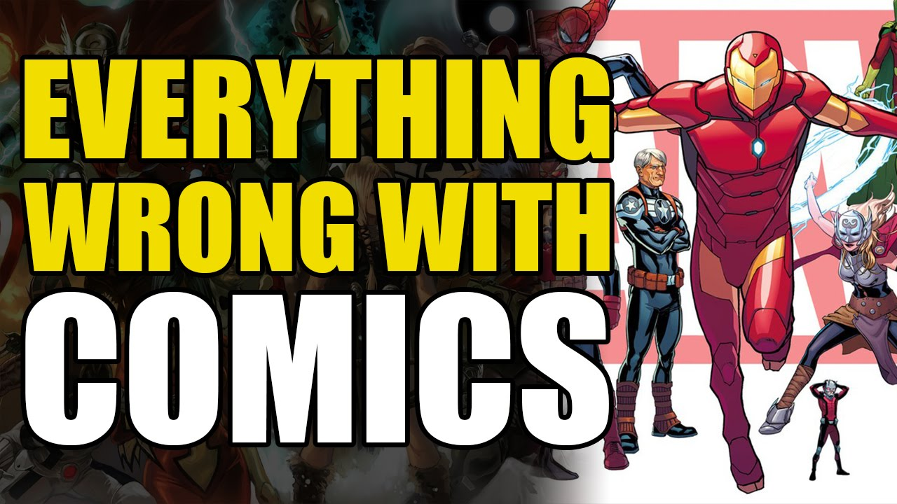 0196867c59a77 Everything Wrong With Comics: All New All Different Marvel - YouTube