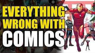 Everything Wrong With Comics: All New All Different Marvel(Twitter: https://twitter.com/comicsexplained https://www.facebook.com/comicsexplained ComicPOP Channel: https://www.youtube.com/tvlittlehouse Comicstorian ..., 2016-07-06T13:59:58.000Z)