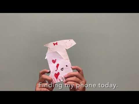 """Nebraska finding his phone"" by Olis Chen"