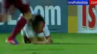 Perú vs Venezuela 1-0 Sudamericano Sub 20 14-01-2013