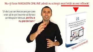 Creare Magazin Online - Oferta de Pret & eBook Gratuit!(, 2017-04-02T18:06:38.000Z)
