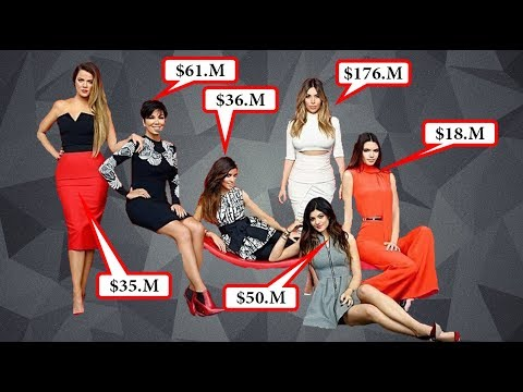 How Much Are The Kardashians Worth  [ kardashian's Net Assets,Net Income & Rich Life ]
