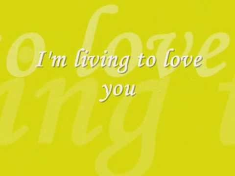 i'm living to love you Karaoke