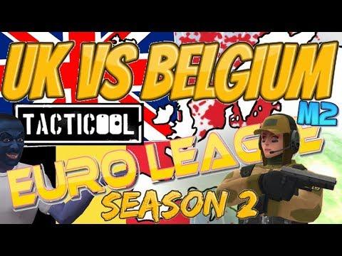 Tacticool European League S2 M2: UK Vs Belgium! HD!