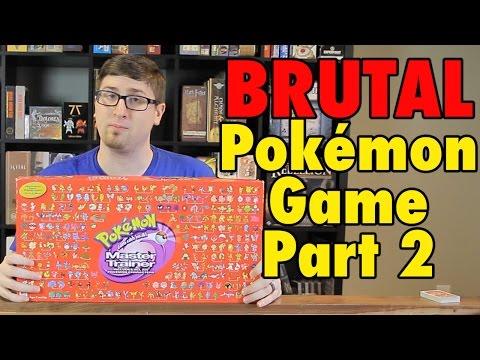 The BRUTAL Pokemon Board Game - Master Trainer Part 2