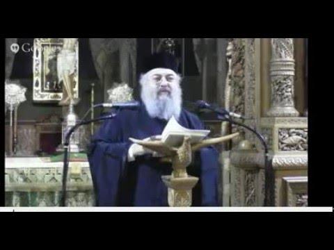 ομιλια περι του αγιου γεροντα Αμφιλοχιου Μακρη -1