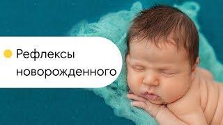 Рефлексы новорожденного. Что умеет новорожденный? Глазами младенца.