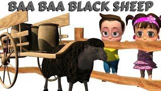 Baa Baa Black Sheep + More Funny Cartoon Nursery Rhymes & Kids Songs by Pankoo Kidz