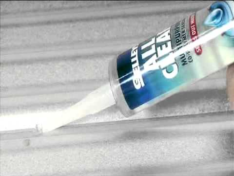 Selleys All Clear Multipurpose Sealant - How to seal windows, skylights and  more
