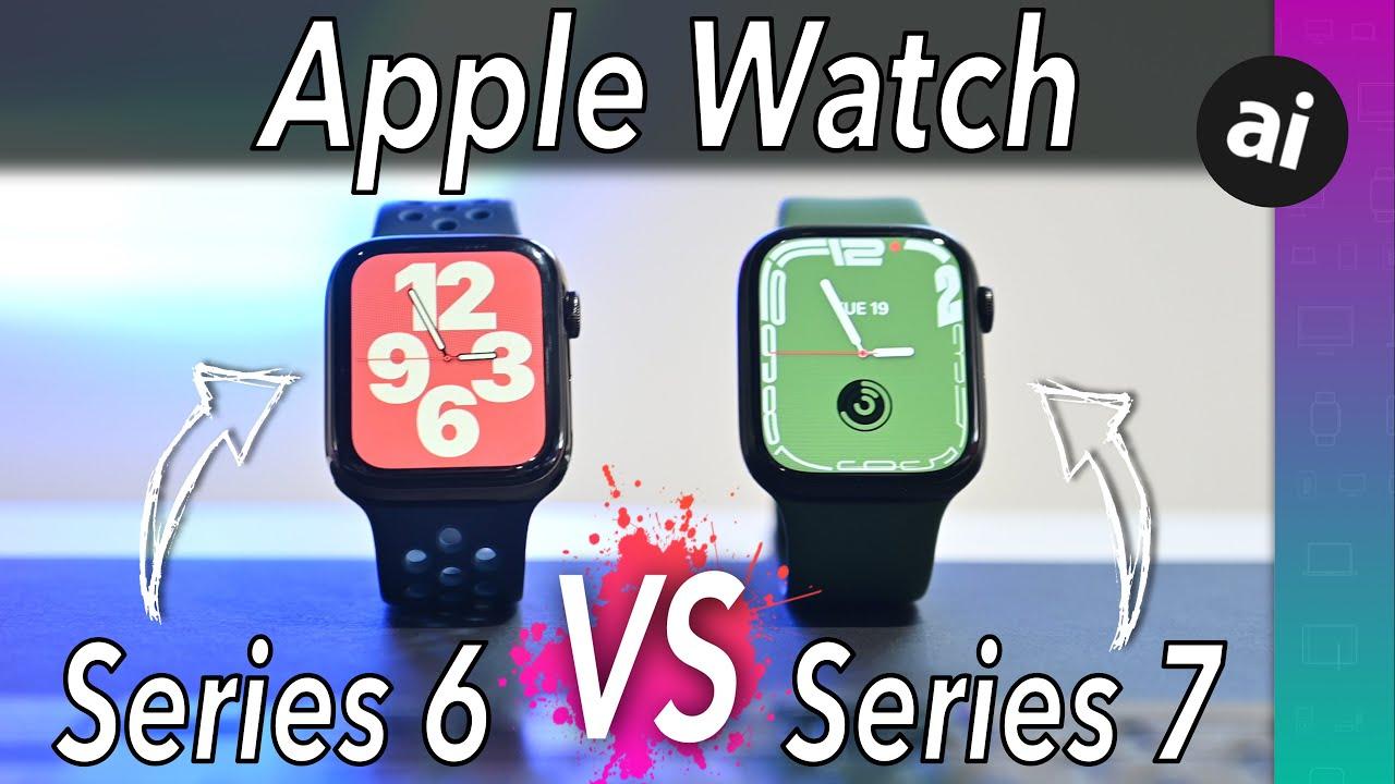 Compared: Apple Watch Series 7 versus Apple Watch Series 6 versus Apple Watch SE